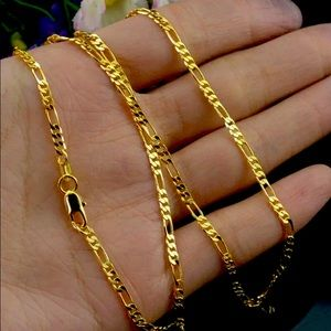 Wholesale 18K Yellow Gold Plated 2mm Classic